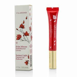 Clarins Paris Natural Lip Perfector Red Shimmer LE